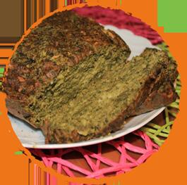 Cake aux épinards MON PANIER SANS GLUTEN