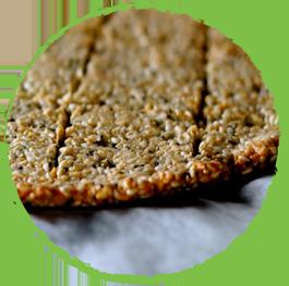 Crackers aux graines de lin Mon Panier Sans Gluten