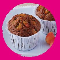 Muffins à la cerise MON PANIER SANS GLUTEN