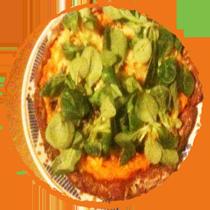 Pizza au potiron Mon Panier Sans Gluten