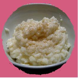 Flan au riz vanillé à la cannelle par MON PANIER SANS GLUTEN