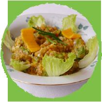 Salade aux graines de teff et de chia MON PANIER SANS GLUTEN