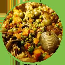 Salade de riz aux fruits de mer MON PANIER SANS GLUTEN