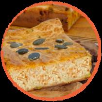 tarte à la carotte et aux pois chiches MON PANIER SANS GLUTEN