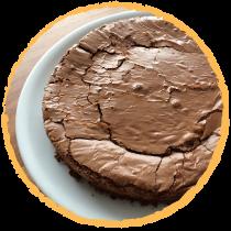 Gateau au cocolat et fèves de cacao MON PANIER SANS GLUTEN