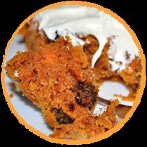 Cake à la carotte MON PANIER SANS GLUTEN