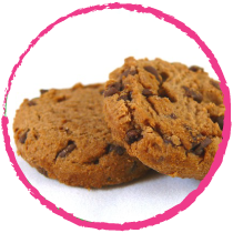 Cookies amande chocolat MON PANIER SANS GLUTEN