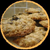 Cookies amande chocolat raisins secs MON PANIER SANS GLUTEN