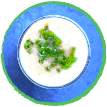 gaspacho lait de coco