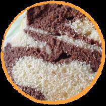 Marbré chocolat vanille MON PANIER SANS GLUTEN