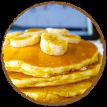 Pancakes banane coco MON PANIER SANS GLUTEN