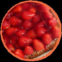Tartelette aux fraises MON PANIER SANS GLUTEN