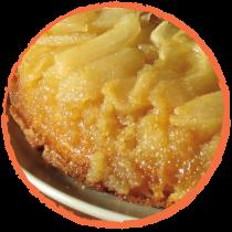 Tarte renversée aux pommes MON PANIER SANS GLUTEN
