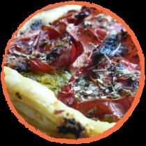 Tarte à la tomate MON PANIER SANS GLUTEN