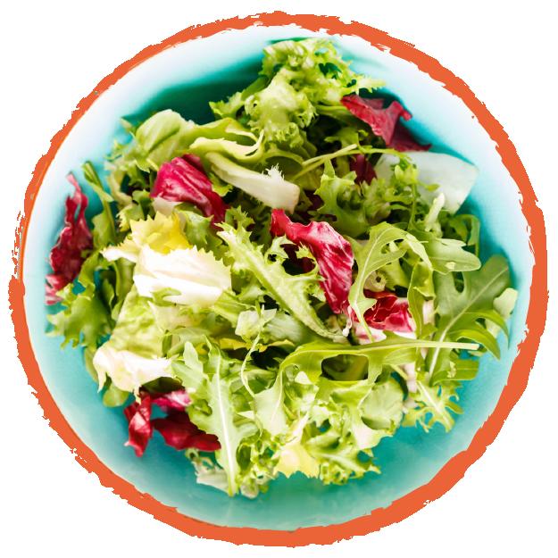 salades SANS GLUTEN