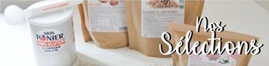 Selection de produits sans gluten